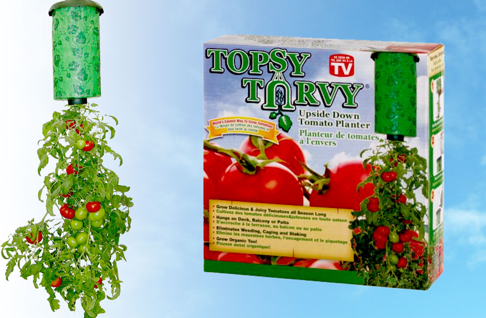 Ideal Topsy Turvy Upside Down Tomato Planter | Expert Advice ZB54