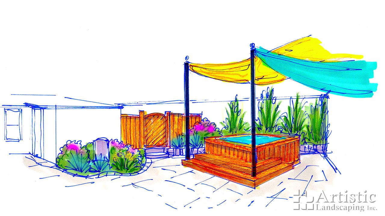 Pergolas Awnings & Sails 19